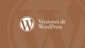 Versiones WP 0