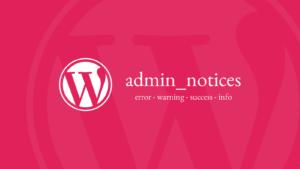 admin_notices 0