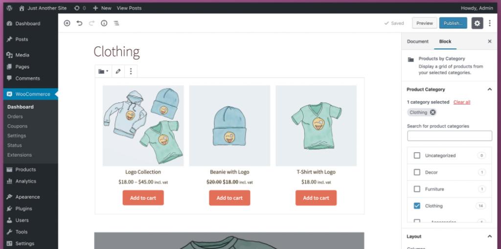 Woocommerce en tienda online