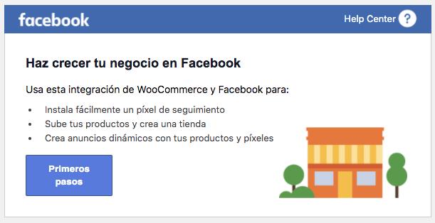 Facebook y Woocommerce