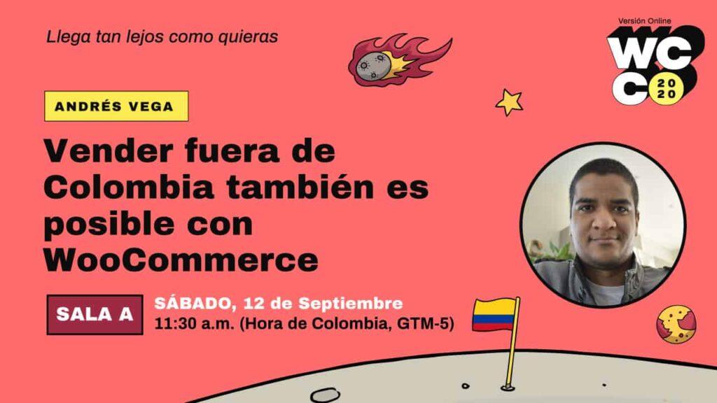 WordCamp Vender fuera de Colombia con WooCommerce