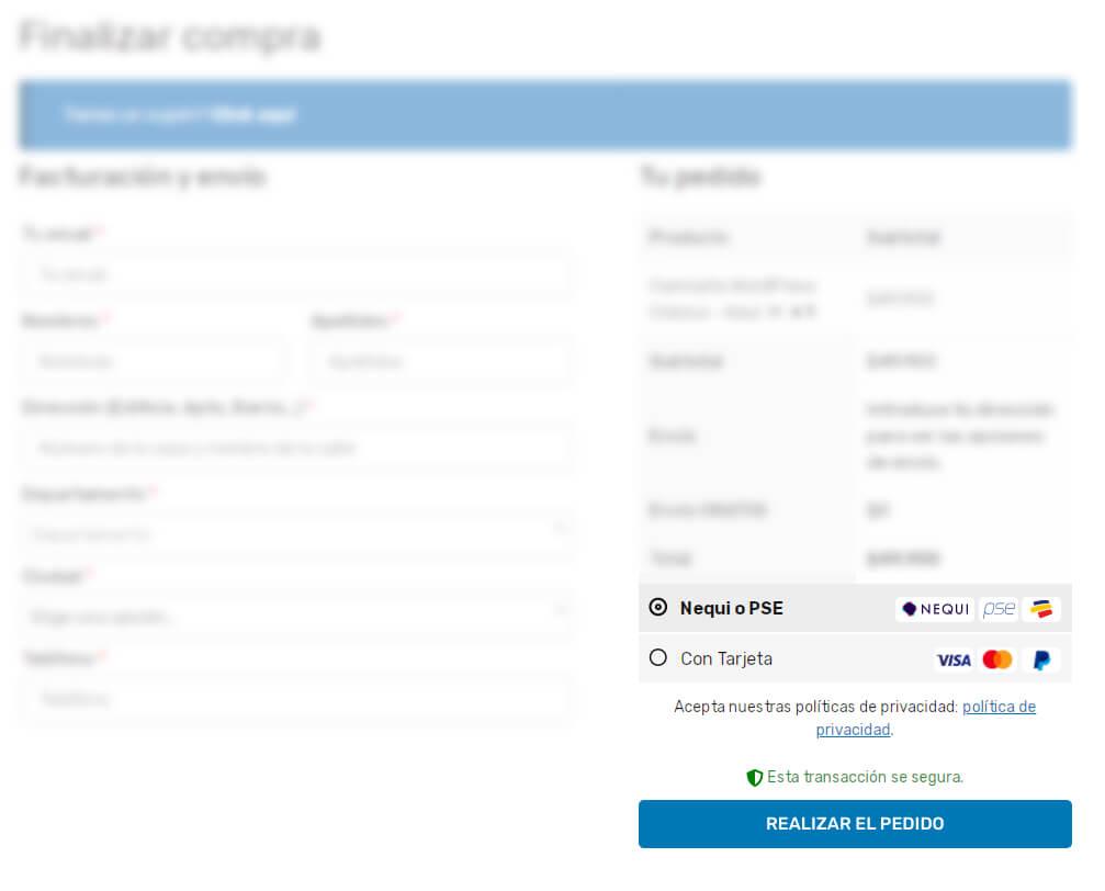 Cómo recibir pagos online con Nequi(PSE) y mi Tienda Online 2